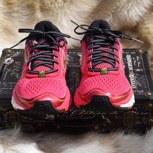 BROOKS Ghost 9 Sneakers Womens Sz. 9 Pink & Black